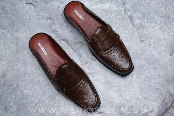 half loafer shoe