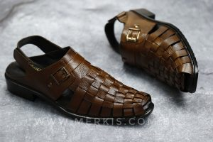 chocolate sandal